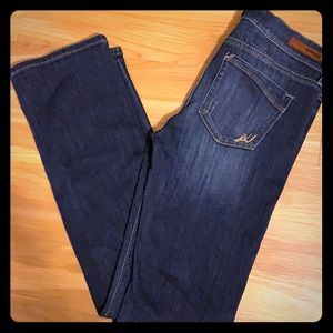 Express Barely Boot Mid Rise Jeans